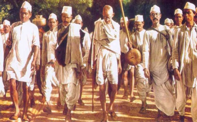 The vital role that Gandhi played in shaping the Indian independence movement