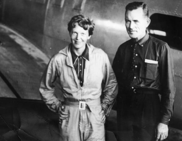 Amelia Earhart, the brave-heart who flew across the Atlantic