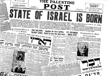 Part 2:  The state of Israel isborn